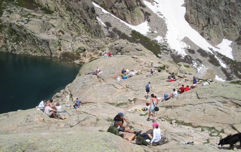 Location de vacances - Maison - Villa à Oletta - Lac de Capitello à près de 2000 m d'altitude au dessus de corté