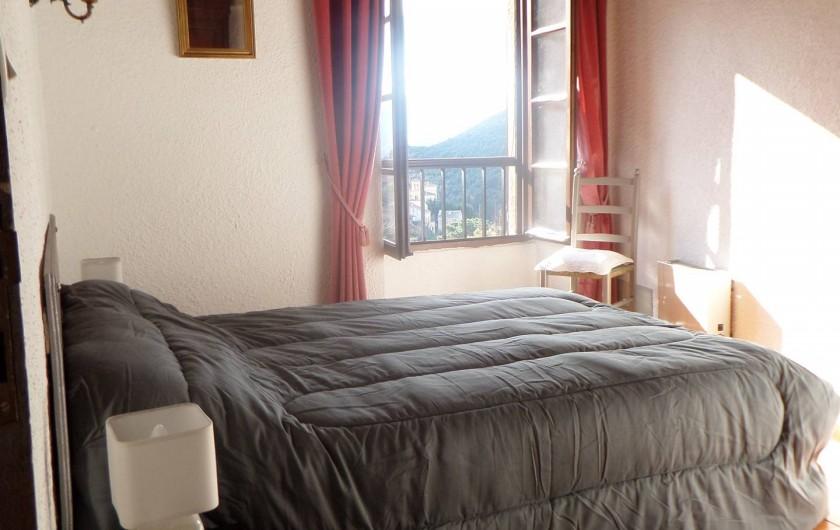 Location de vacances - Maison - Villa à Oletta - Chambre n°3 coté sud avec vue dégagée au niveau deux