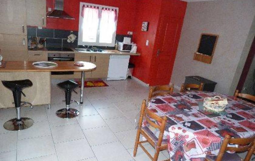 Location de vacances - Gîte à Muides-sur-Loire - cote cuisine