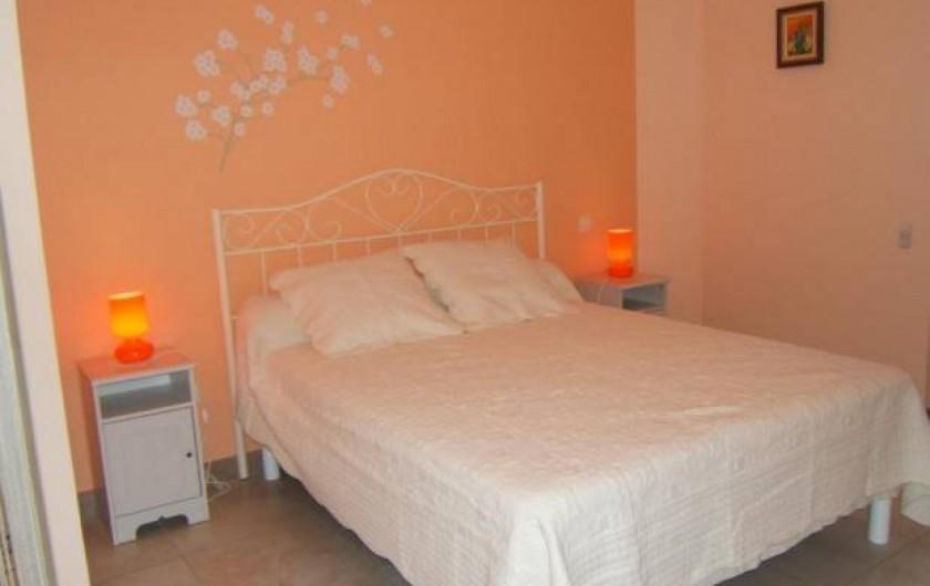 Location de vacances - Gîte à Argenteuil-sur-Armançon - Chambre parentale
