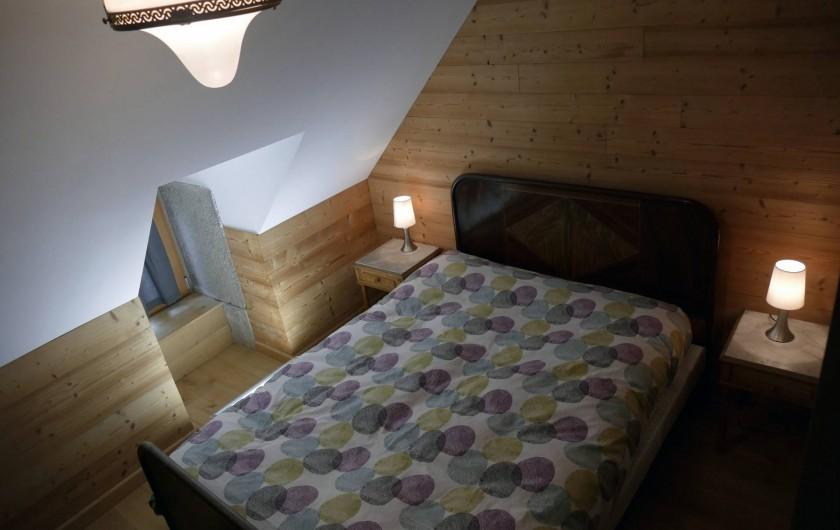 Location de vacances - Mas à Lavigerie - Petite chambre (2ème étage)