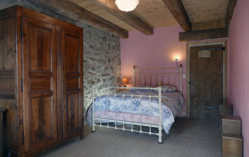 Location de vacances - Mas à Lavigerie - Chambre 1er étage