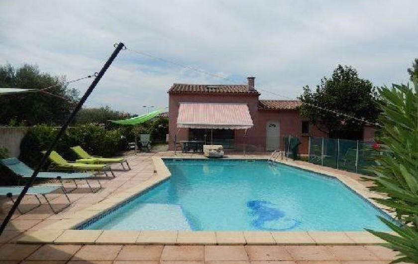 Location de vacances - Villa à Lansargues