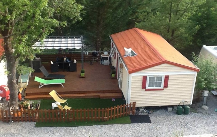 Location de vacances - Bungalow - Mobilhome à Puget-Théniers