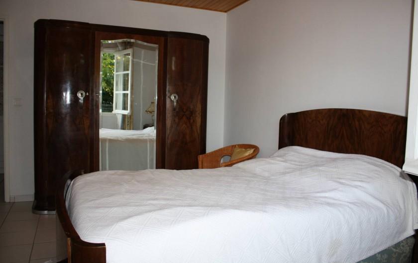 Location de vacances - Villa à Andernos-les-Bains - Chambre 1 : rez de chaussée