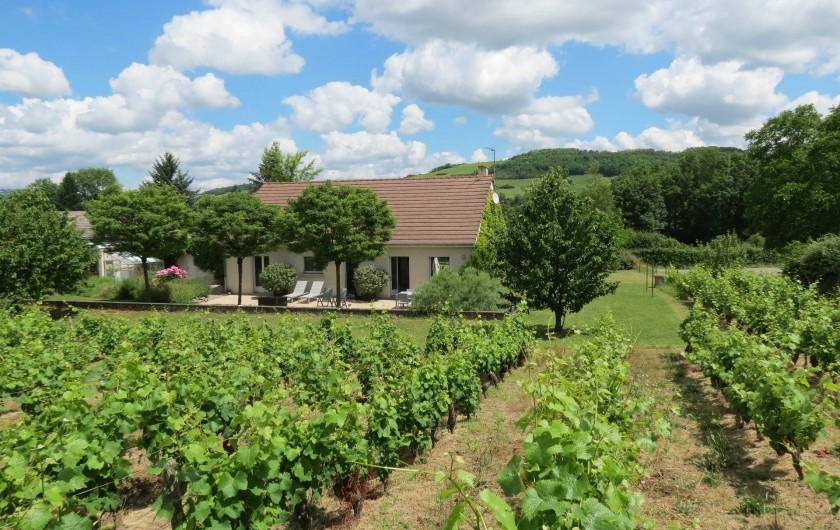 Location de vacances - Maison - Villa à Paris-l'Hôpital - Maison indépendante avec sa propre vigne