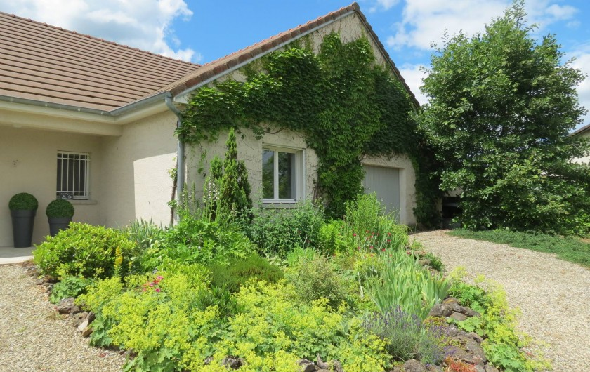 Location de vacances - Maison - Villa à Paris-l'Hôpital - Devant la maison