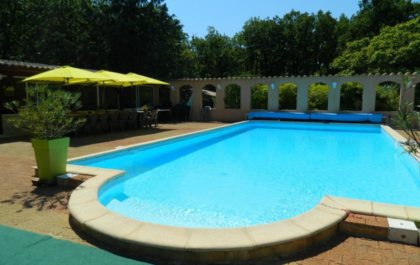 Location de vacances - Chambre d'hôtes à Saint-Géry - PISCINE