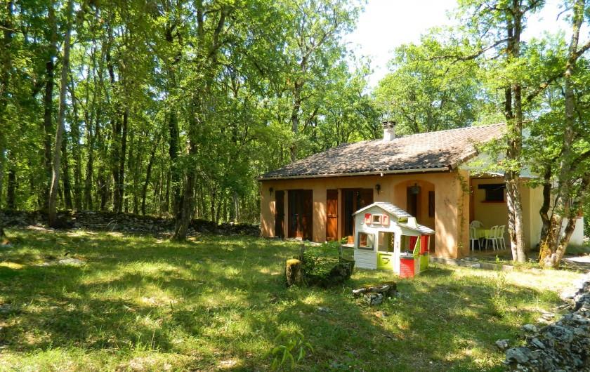 Location de vacances - Chambre d'hôtes à Saint-Géry - GITE YIN ET YANG