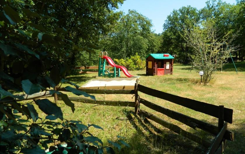 Location de vacances - Chambre d'hôtes à Saint-Géry - JARDIN