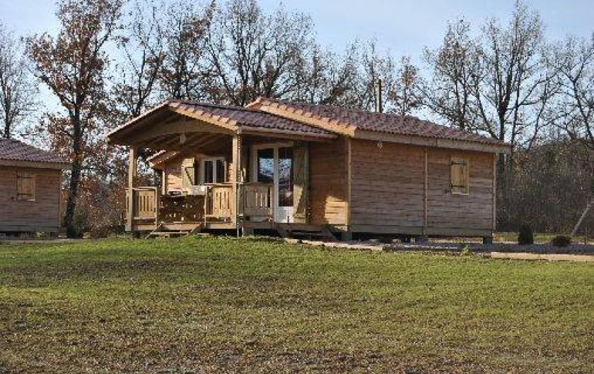 Location de vacances - Chalet à Viviers-lès-Montagnes