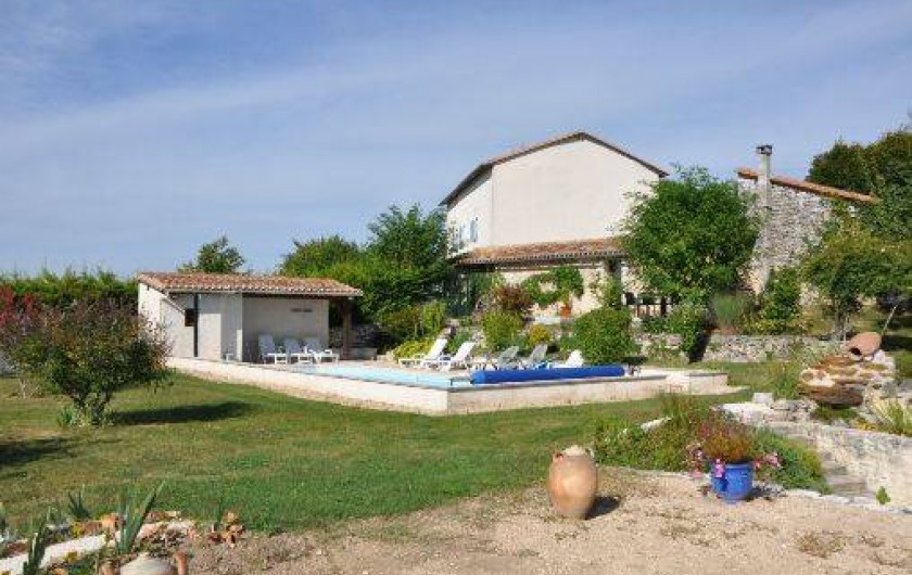 Location de vacances - Villa à La Rochebeaucourt-et-Argentine
