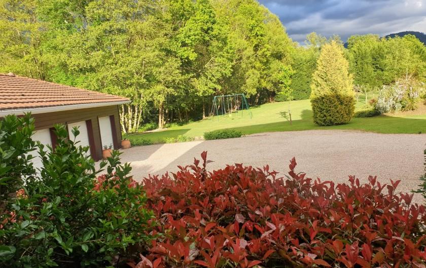 Location de vacances - Maison - Villa à Ban-de-Laveline - GARAGE ET JARDIN