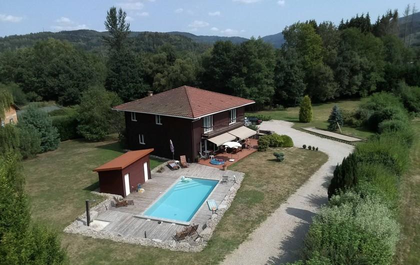 Location de vacances - Maison - Villa à Ban-de-Laveline - VUE D'ENSEMBLE