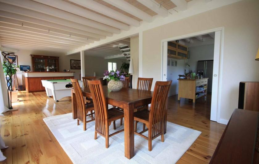 Location de vacances - Maison - Villa à Ban-de-Laveline - SALLE A MANGER