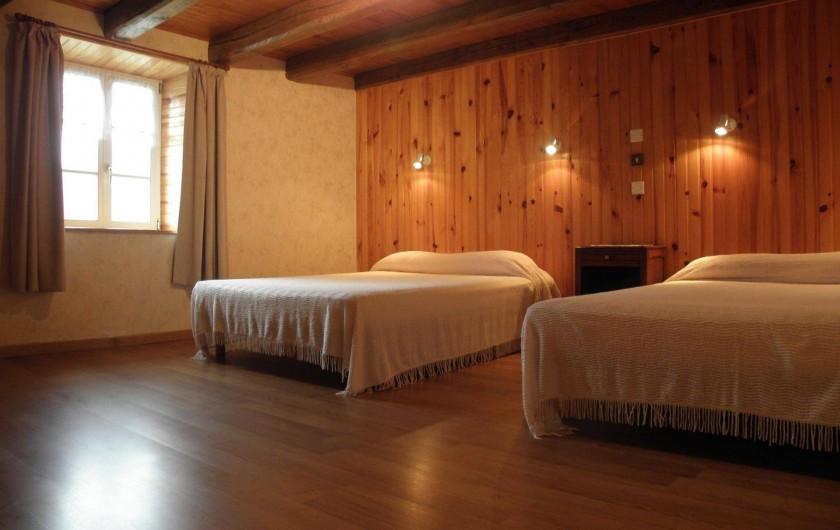 Location de vacances - Maison - Villa à Thiéfosse - Chambre à l'étage