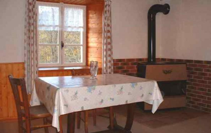 Location de vacances - Maison - Villa à Thiéfosse - Salle à manger
