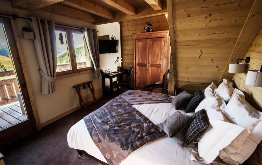 Location de vacances - Hôtel - Auberge à Mâcot-la-Plagne - Chambre Luxe