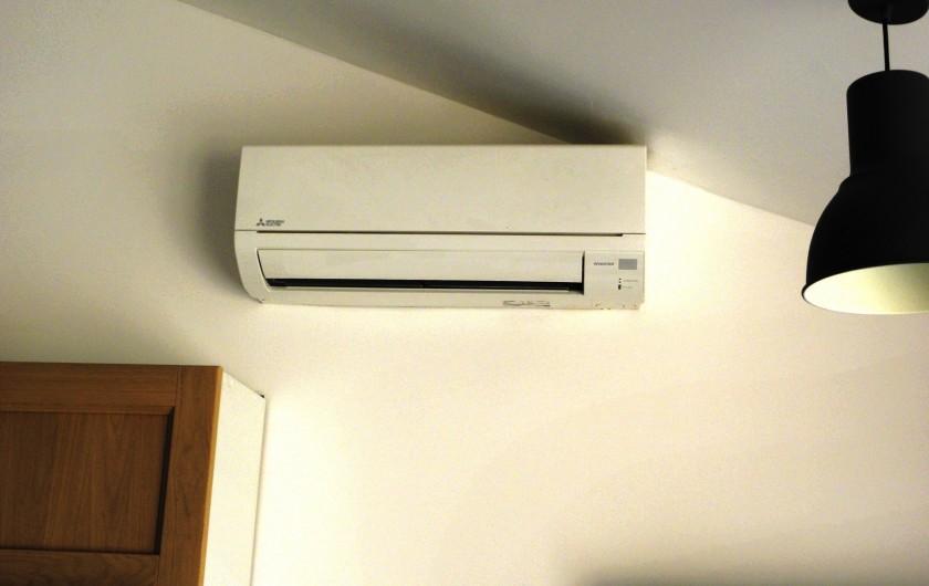 Location de vacances - Appartement à Charleval - la climatisation réversible chaud froid de l'appart 5