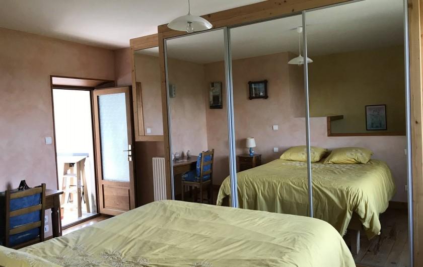 Location de vacances - Appartement à Chanaz - Chambre
