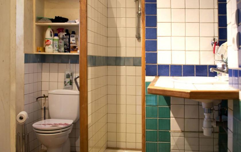Location de vacances - Appartement à Chanaz - Toilettes