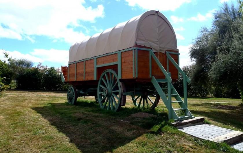 Location de vacances - Roulotte à Taden - Chariot Western