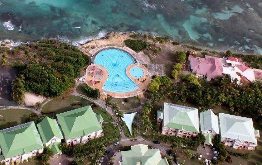 Location de vacances - Appartement à Saint-François - vue du ciel