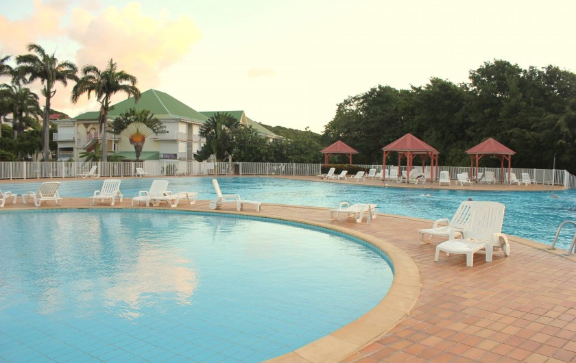 Location de vacances - Appartement à Saint-François - piscine