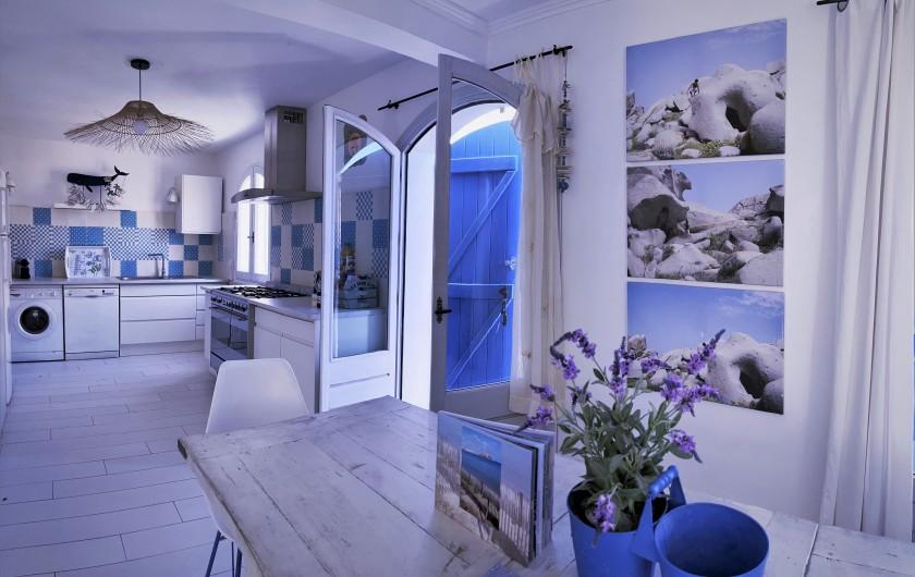 Location de vacances - Villa à Calvi - Salon.