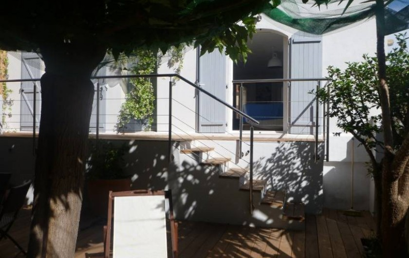 Location de vacances - Villa à Calvi - Jardin
