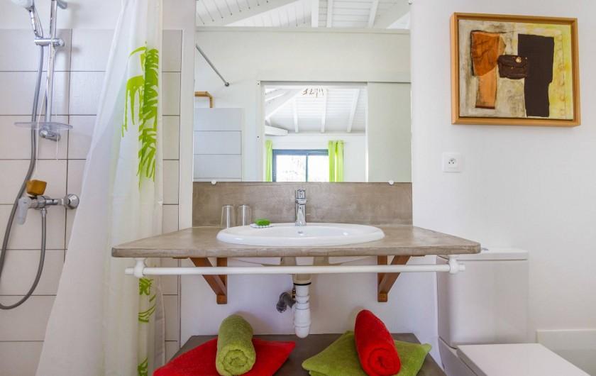 Location de vacances - Villa à Sainte-Anne - Iguane House Villas & Micro Spa Villa Passion salle de douche 2