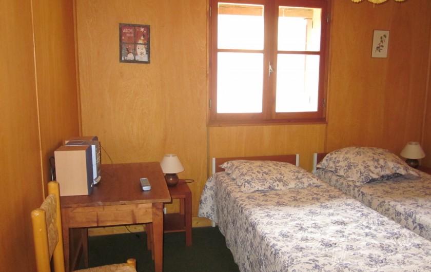 Location de vacances - Chalet à Vallouise - Chambre 1niveau   bas