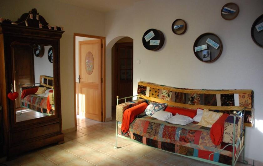 Location de vacances - Villa à Valuéjols - Grande entrée de la maison