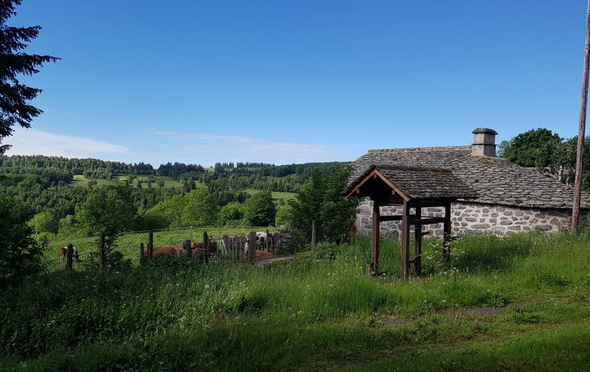 Location de vacances - Villa à Valuéjols - Four banal rénové du village