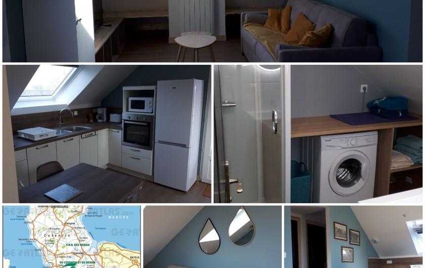 Location de vacances - Appartement à Marchésieux