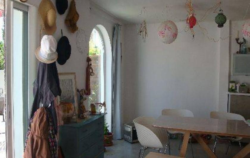 Location de vacances - Maison - Villa à Saint-Cyprien - Côté salle à manger