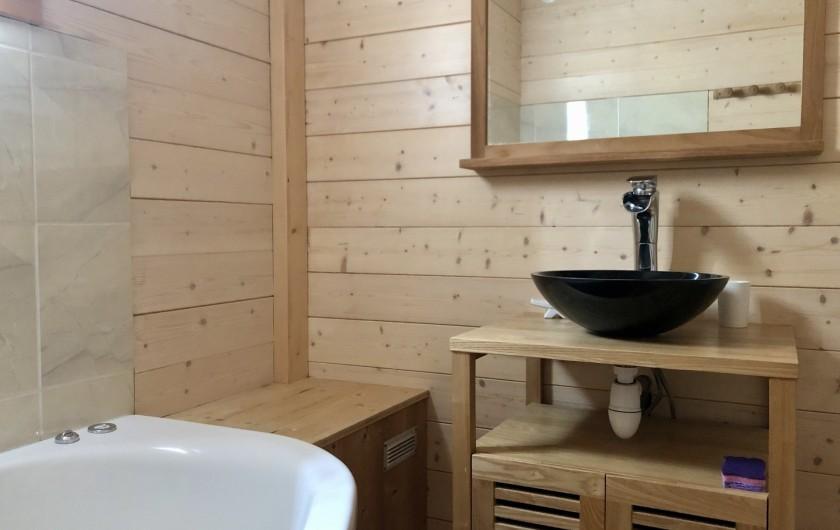 Location de vacances - Chalet à La Bresse - Salle de bain (Rez de chaussée)