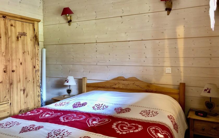 Location de vacances - Chalet à La Bresse - Chambre rez de chaussée