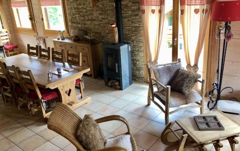 Location de vacances - Chalet à La Bresse - Pièce de vie