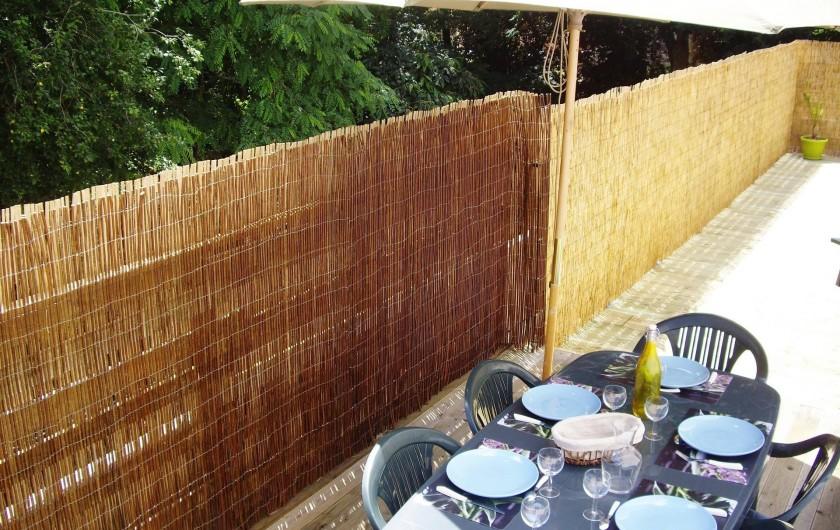 Location de vacances - Appartement à Saint-Brevin-les-Pins - Appartement Vacances Particulier : Grande Terrasse de 40 m² sur Toit-Terrasse