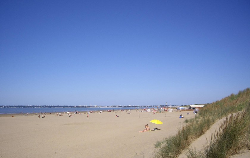 Location de vacances - Appartement à Saint-Brevin-les-Pins - Location Vacances Saint-Brevin l'Océan : Grande Plage de sable fin avec dunes