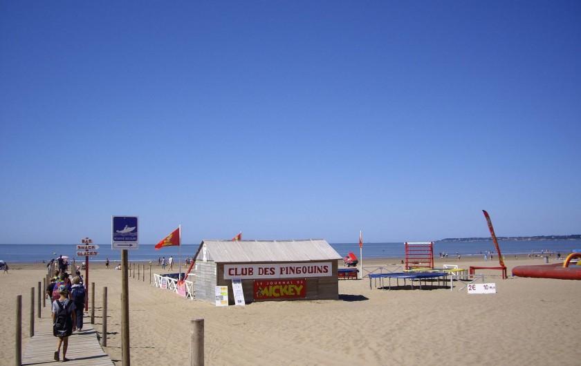 Location de vacances - Appartement à Saint-Brevin-les-Pins - Location Vacances Loire-Atlantique : Club de Plage pour les enfants à ST-BREVIN