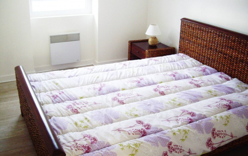 Location de vacances - Appartement à Saint-Brevin-les-Pins - Locations Saisonnières : Appartement avec chambre lit double pour 2 personnes