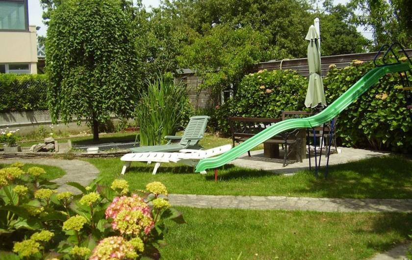 Location de vacances - Chambre d'hôtes à Saint-Malo - Le Jardin