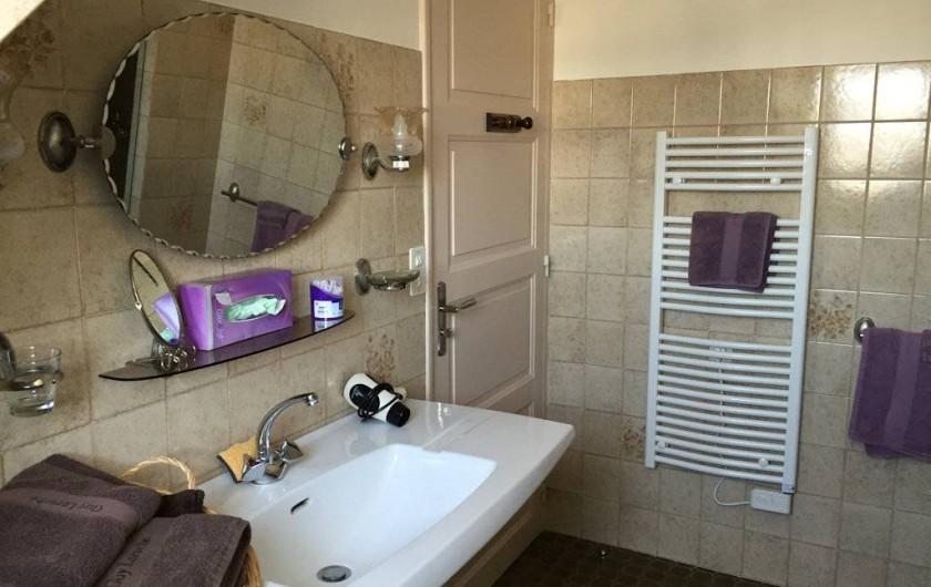 Location de vacances - Chambre d'hôtes à Saint-Malo - La salle d'eau