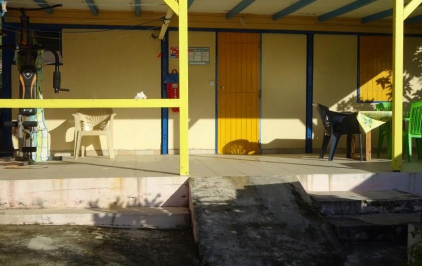 Location de vacances - Appartement à Les Abymes - Possibilité de passer une partie du séjour à la Désirade dans un pavillon