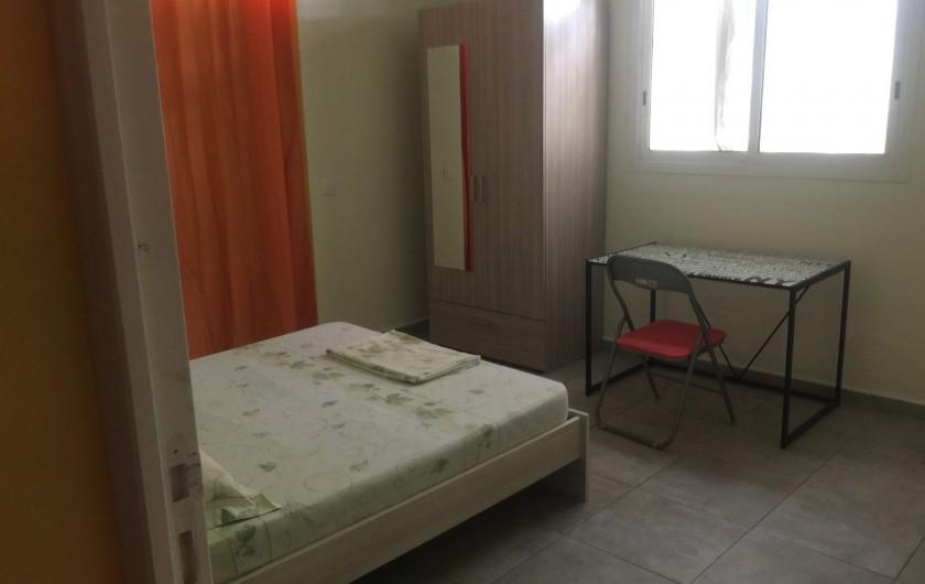Location de vacances - Appartement à Les Abymes - ou s'ils préfèrent une chambre plus claire.