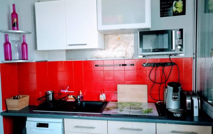 Location de vacances - Appartement à Palavas-les-Flots - Cuisine