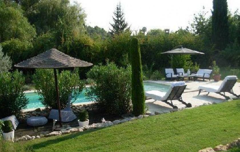 Location de vacances - Mas à Ansouis