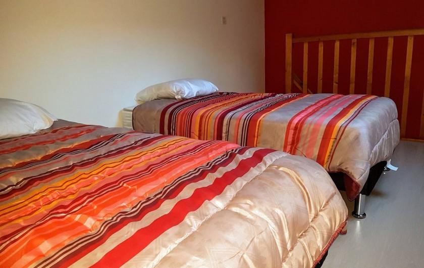 Location de vacances - Appartement à Les Herbiers - 2 lits de 90 dans la mezzanine